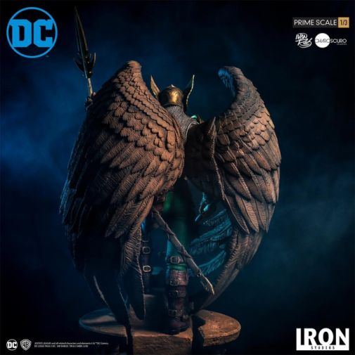 Iron Studios - DC Comics - Hawkman - Closed Wings - 08