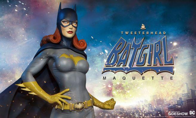 Tweeterhead - Batgirl Statue - 01