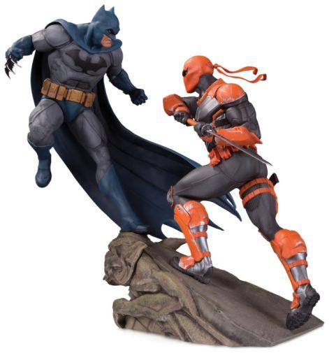 DC Collectibles - December 2019 - Batman - Battle Statue Batman vs Deathstroke - 01