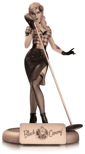 DC Collectibles - December 2019 - DC Bombshells - Black Canary Sepia Tone - 01