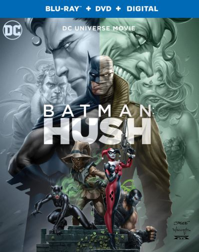 Batman Hush - Blu-ray - Cover