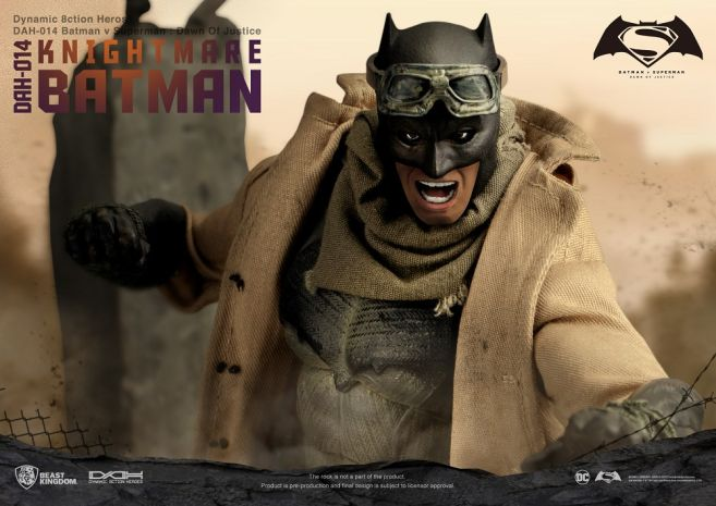 Beast Kingdom - DC - Knightmare Batman - 08