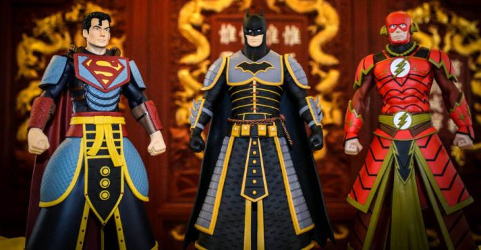 Pop Life - DC Armor Figures - Press release