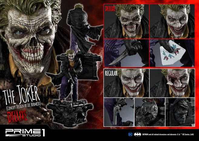 Prime 1 Studio - Batman - Joker by Lee Bermejo - 03