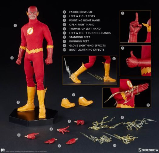 Sideshow - The Flash - Sixth Scale The Flash - 15