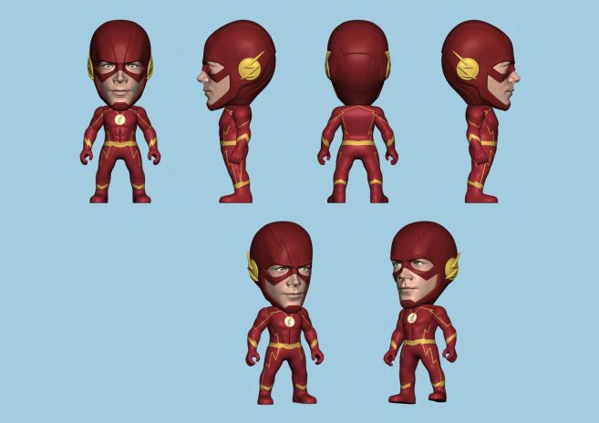 Titans - Arrowverse - The Flash - 01