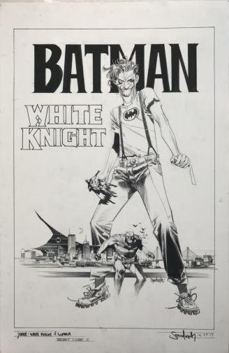 White Knight 2 black and white variant