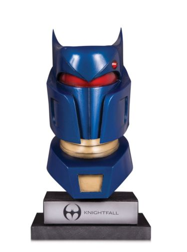 DC Collectibles - February 2020 - DC Gallery - Knightfall Batman Cowl - 01