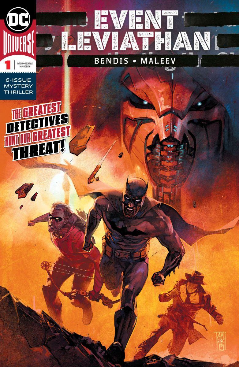 Event Leviathan 1 Review Batman News