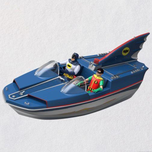 Hallmark - Keepsake Ornaments - 2019 - Batman Classic TV Series Batboat - 01