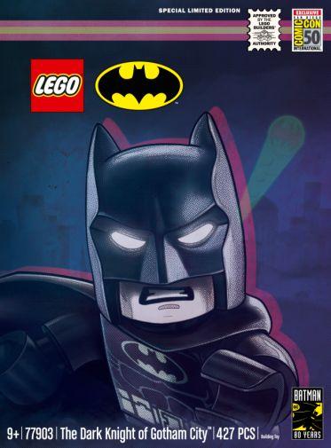 LEGO - 77903 - SDCC 2019 Exclusive Batman 80th Anniversary Set - 05
