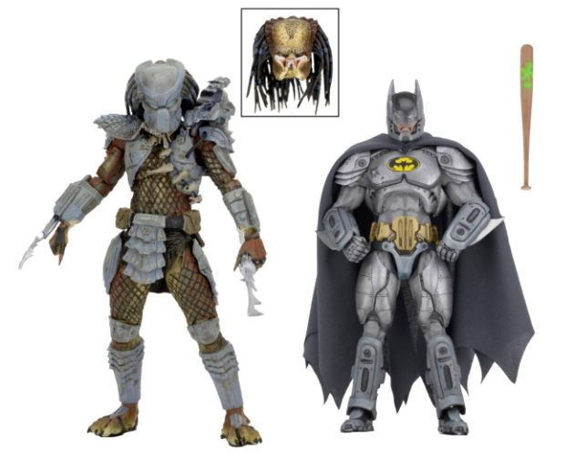NECA - 2019 Convention Exclusives - Batman vs Predator 2-Pack - 01