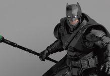 Beast Kingdom - SDCC 2019 Exclusives - DAH-018 - Batman V Superman Dawn of Justice Armored Batman - Featured