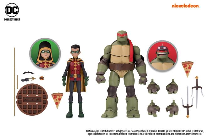 DC Collectibles - SDCC 2019 Exclusives - Batman vs TMNT - Robin and Raphael - 01