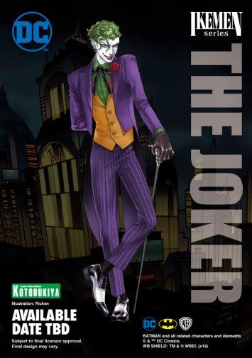 Kotobukiya - Batman -Ikemen Joker - Unpainted - 08