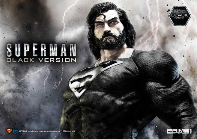 Prime 1 Studio - Superman - Black Version Superman - 15