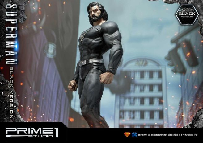 Prime 1 Studio - Superman - Black Version Superman - 22