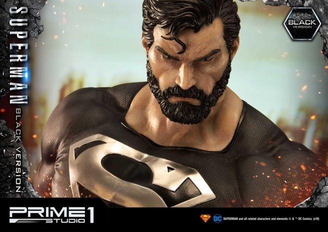 Prime 1 Studio - Superman - Black Version Superman - 46