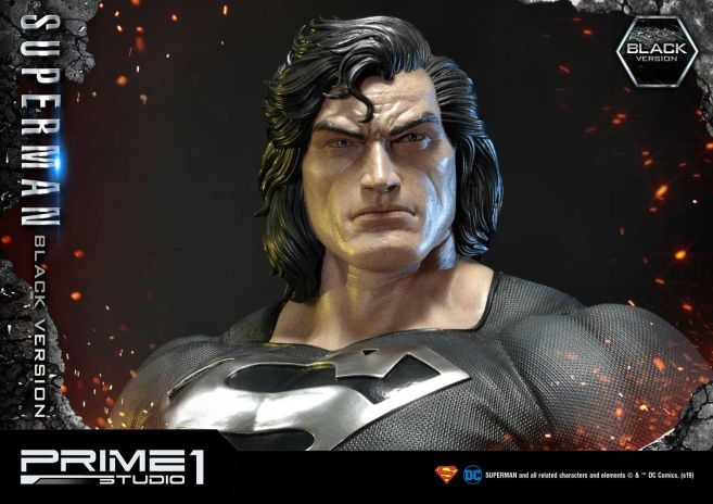 Prime 1 Studio - Superman - Black Version Superman - 50
