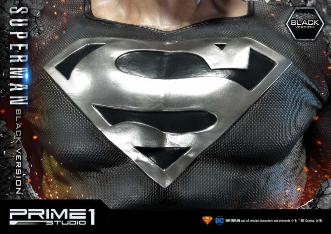 Prime 1 Studio - Superman - Black Version Superman - 57