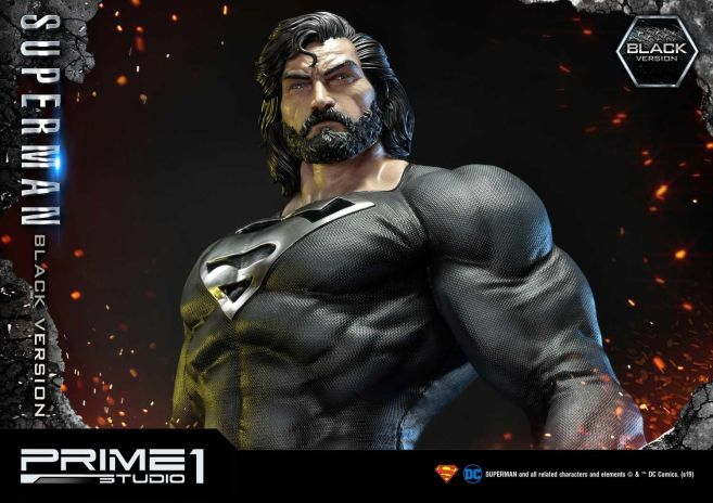 Prime 1 Studio - Superman - Black Version Superman - 63