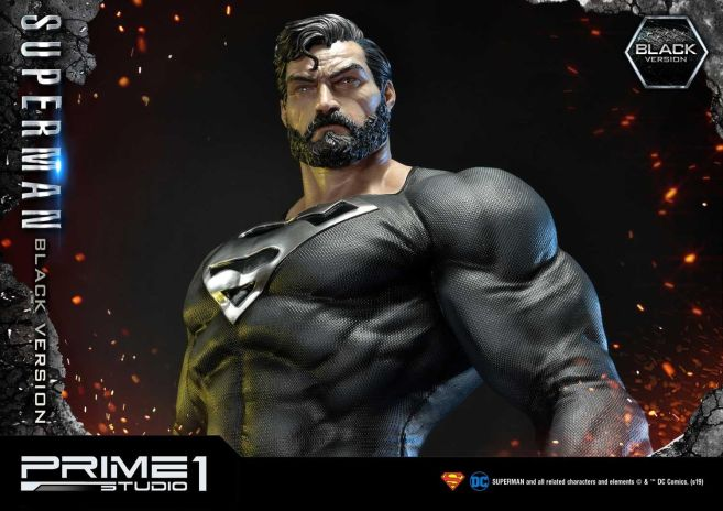 Prime 1 Studio - Superman - Black Version Superman - 64