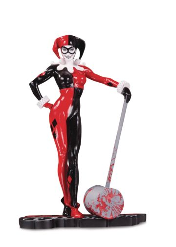 DC Collectibles - April 2020 - Red White and Black - Harley Quinn by Adam Hughes - 01