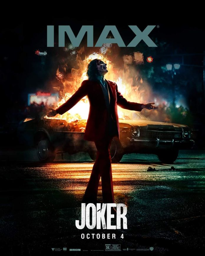 Joker - Official Images - Imax Poster - 01