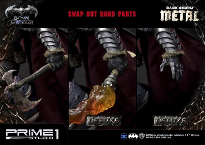 Prime 1 Studio - Batman - Dark Knights Metal - Batman vs Joker Dragon - 04