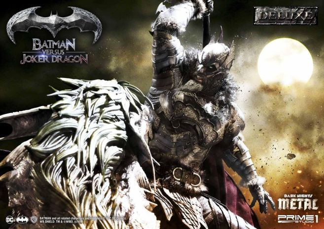 Prime 1 Studio - Batman - Dark Knights Metal - Batman vs Joker Dragon - 11