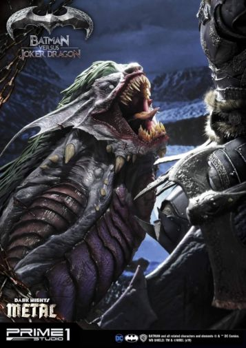 Prime 1 Studio - Batman - Dark Knights Metal - Batman vs Joker Dragon - 16