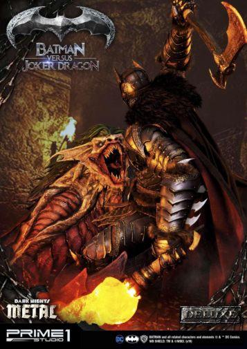 Prime 1 Studio - Batman - Dark Knights Metal - Batman vs Joker Dragon - 27