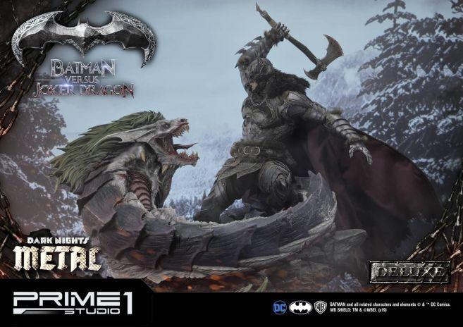 Prime 1 Studio - Batman - Dark Knights Metal - Batman vs Joker Dragon - 45