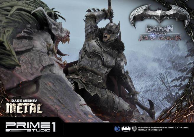 Prime 1 Studio - Batman - Dark Knights Metal - Batman vs Joker Dragon - 59