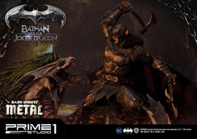 Prime 1 Studio - Batman - Dark Knights Metal - Batman vs Joker Dragon - 63