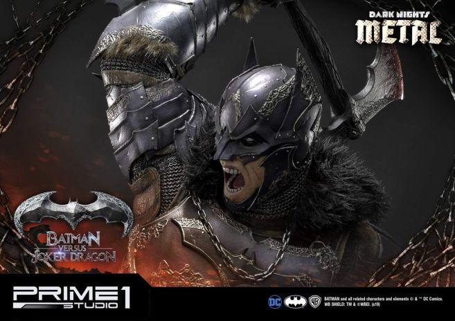 Prime 1 Studio - Batman - Dark Knights Metal - Batman vs Joker Dragon - 77