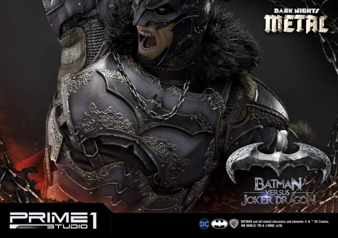 Prime 1 Studio - Batman - Dark Knights Metal - Batman vs Joker Dragon - 79