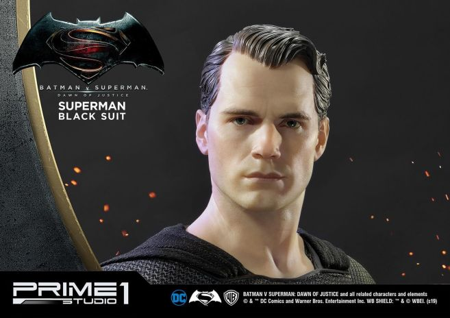 Prime 1 Studio - Superman - Black Suit Superman - 12