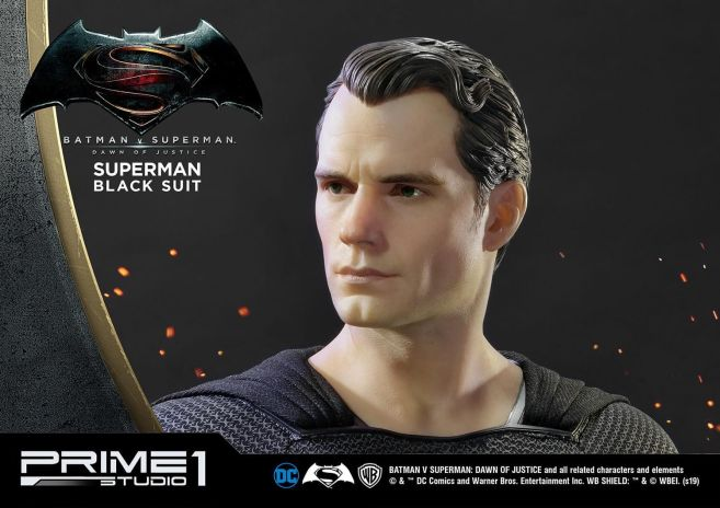 Prime 1 Studio - Superman - Black Suit Superman - 13