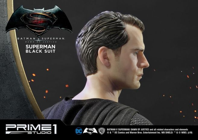 Prime 1 Studio - Superman - Black Suit Superman - 14