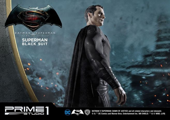 Prime 1 Studio - Superman - Black Suit Superman - 29