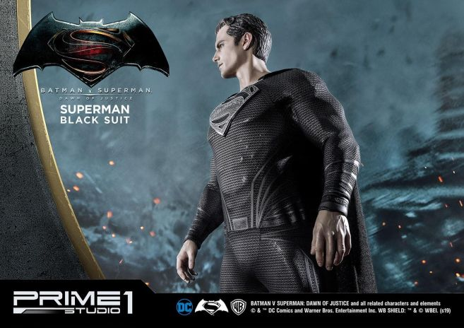 Prime 1 Studio - Superman - Black Suit Superman - 30