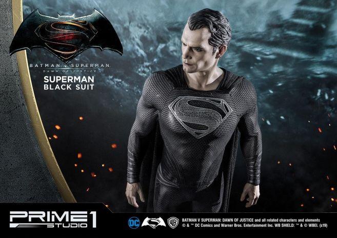 Prime 1 Studio - Superman - Black Suit Superman - 33