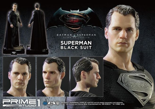 Prime 1 Studio - Superman - Black Suit Superman - 35