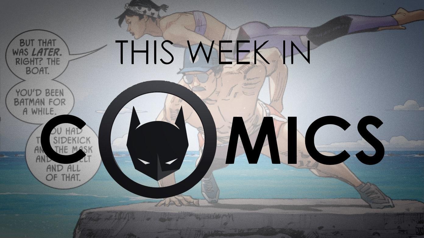 This Week In Comics Bat Cat Do Couples Yoga Next Week Goat Yoga Batman News