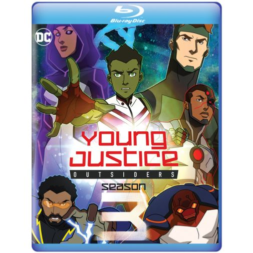 Young Justice Outsiders - Blu-ray - 01