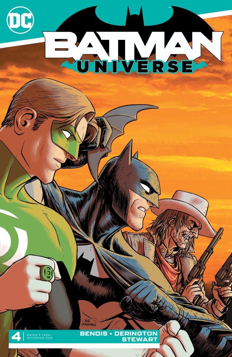 Batman Universe 4 cover