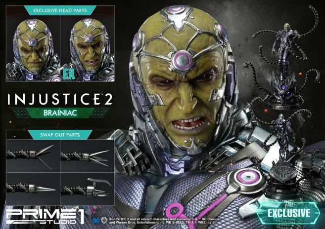 Prime 1 Studio - Injustice 2 - Brainiac - 03