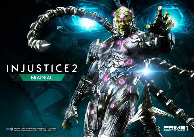 Prime 1 Studio - Injustice 2 - Brainiac - 11