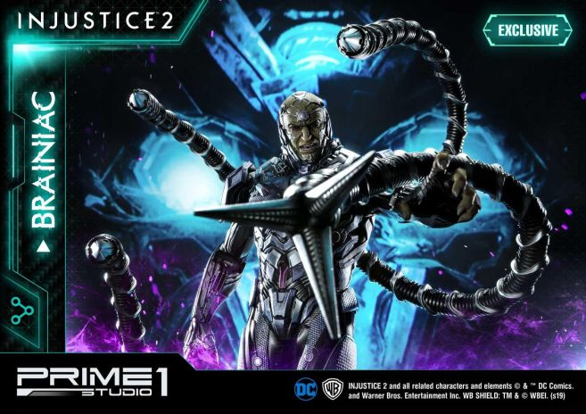 Prime 1 Studio - Injustice 2 - Brainiac - 16